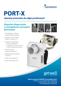 Ulotka Przenosne aparaty RTG PORT X