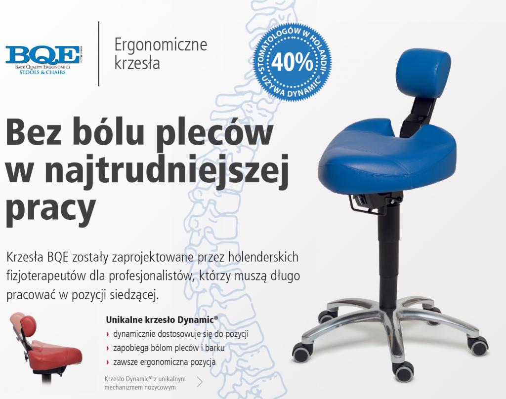 Holenderskie ergonomiczne krzesła dla profesjonalistów BQE