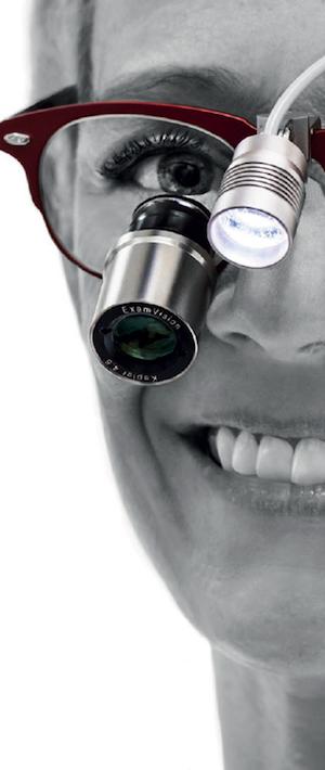 Indywidualne lupy stomatologiczne ExamVision