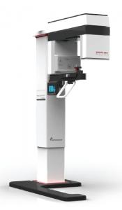 Tomograf stomatologiczny o dużym polu obrazowania z pantomografem i cefalostatem