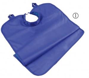 Fartuchy ochronne dla dorosłego pacjenta, z kołnierzem- 0,25 mm i 0,5 mm (eq.pb)