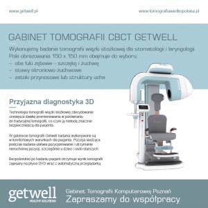 Ulotka Gabinet tomografia Poznan