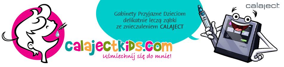 logo calaject znieczulenie komputerowe calajectkids.com