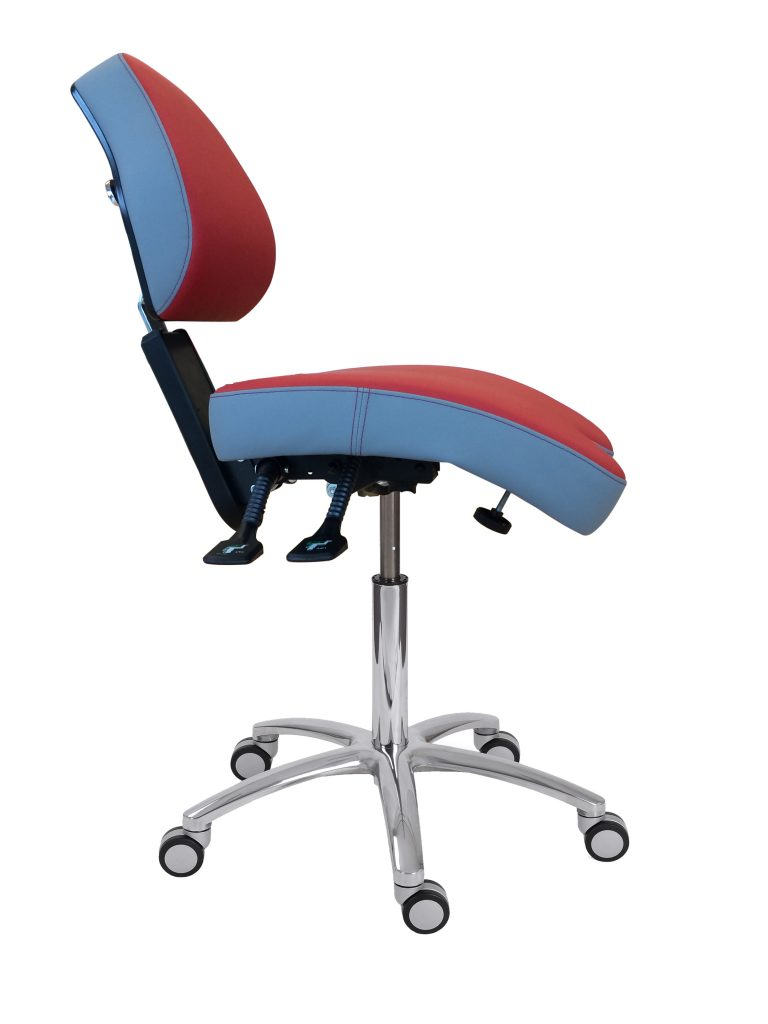 Ergonomiczne krzeslo stomatologiczne BQE BackUp Mechanic