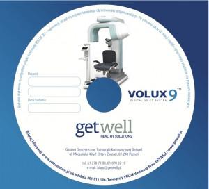 Płyta z badaniem tomografii