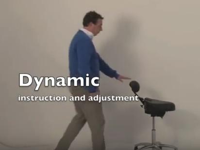 Prezentacja krzesla Dynamic BQE