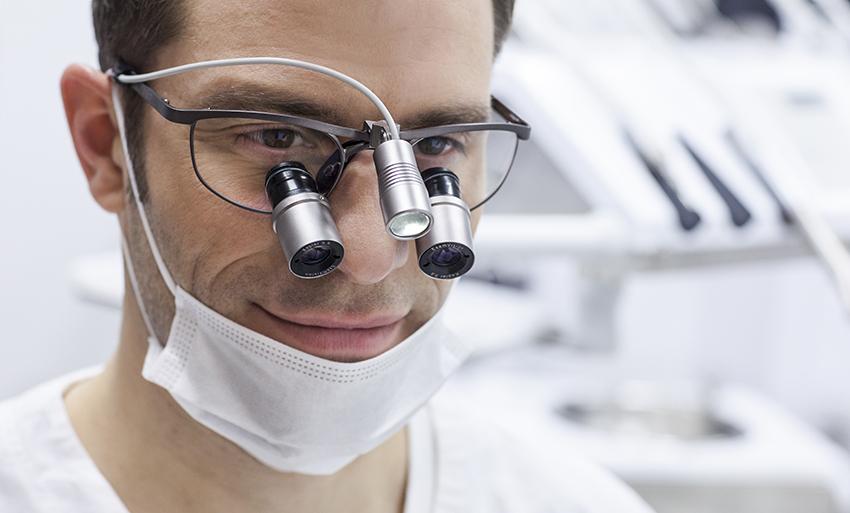Lupy stomatologiczne model Sport ExamVision