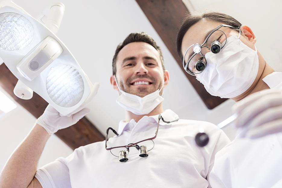 Lupy stomatologiczne / zabiegowe ExamVision