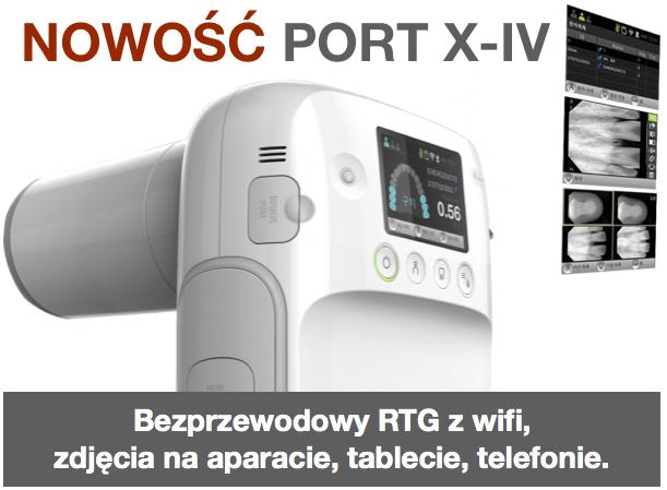 Aparat przenośny bezprzewodowy RTG Port X-IV z wifi