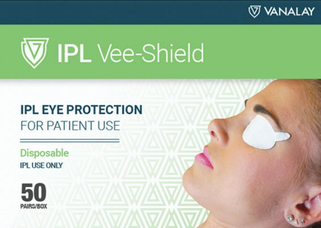 Jednorazowa ochrona oczu pacjenta przy zabiegu ipl