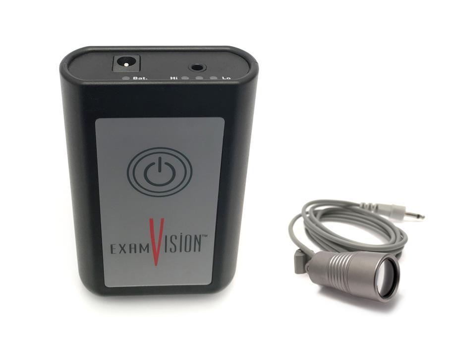 Panel sterujący i bateria do oświetlenia ExamVision sterowany łokciem